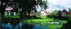 Böhmische Dorfarchitektur