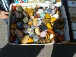 Halbedelsteine die hier gefunden wurden
